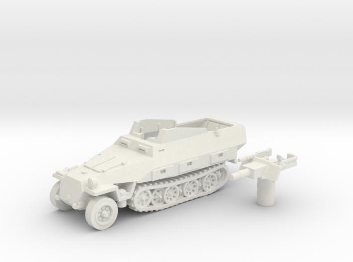 Sd.Kfz 251 vehicle (Germany) 1/87 3d printed