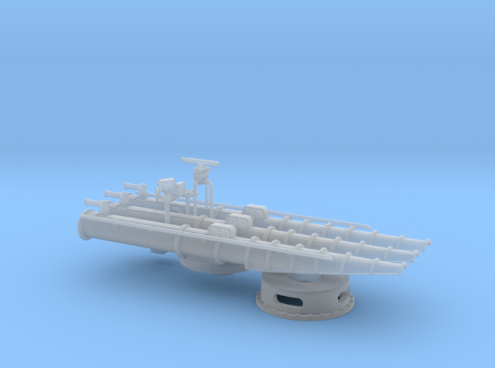 1/96 USN Trainable Torpedo Tubes 3d printed