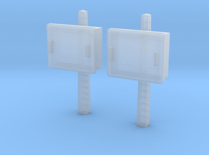 TJ-H04678x2 - Boitiers STM sur poteaux béton 3d printed