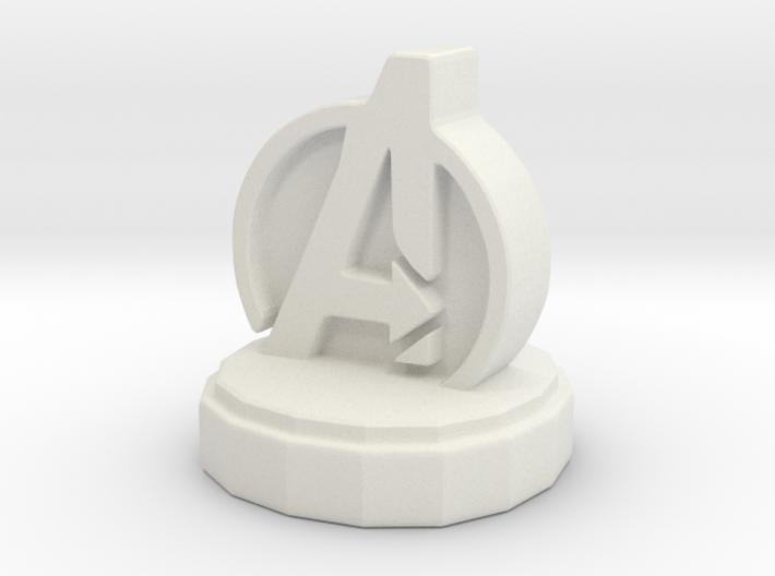Marvel Pawn 3d printed
