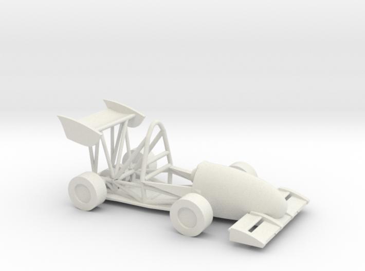 CMU FSAE Car 3d printed