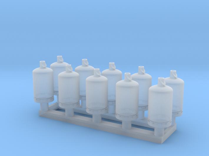 TJ-H02001x10 - Bouteilles de gaz 13kg 3d printed
