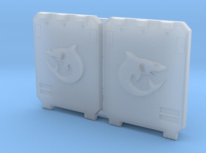 "Carcharodons ""Metal Box APC"" Set 1 3d printed"