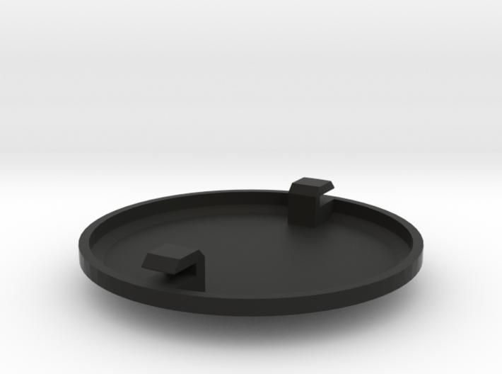 Cap for 60mm Single Enclosed Gauge Pod 3d printed