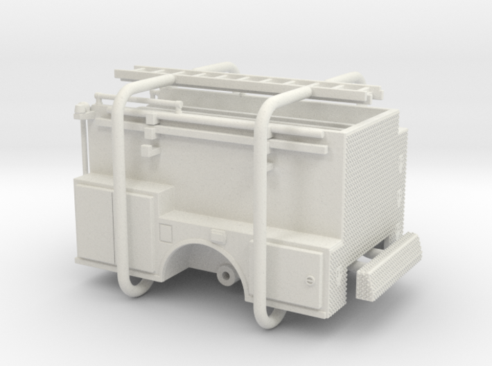 1/64 ALF Pipeline Body Compartment Doors 3d printed