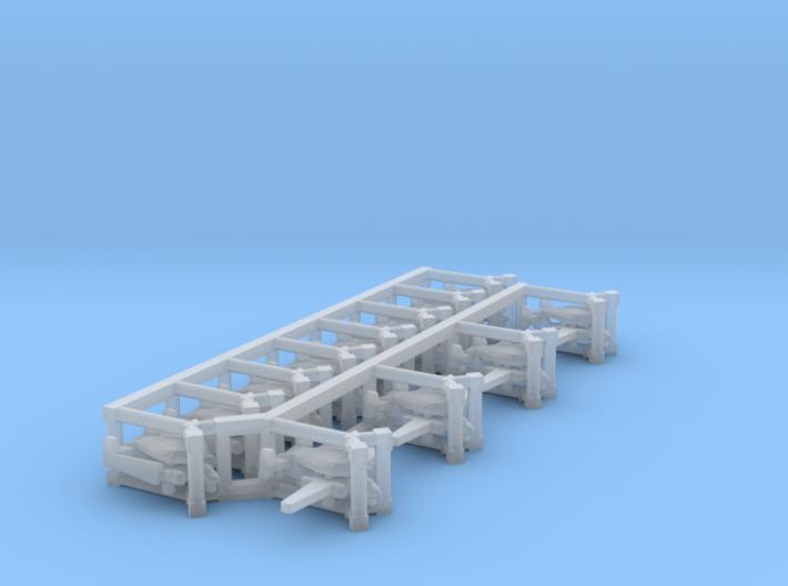 E-1B Tracer x 12, 1/1800 3d printed