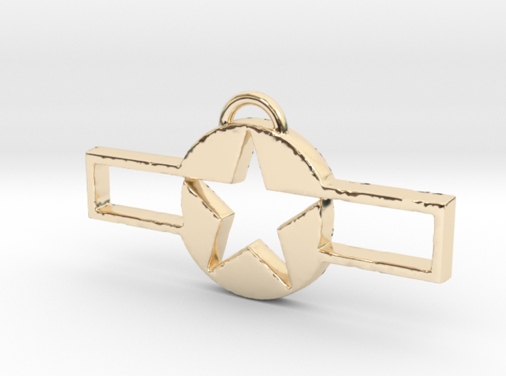 WWII Pendant 2 3d printed