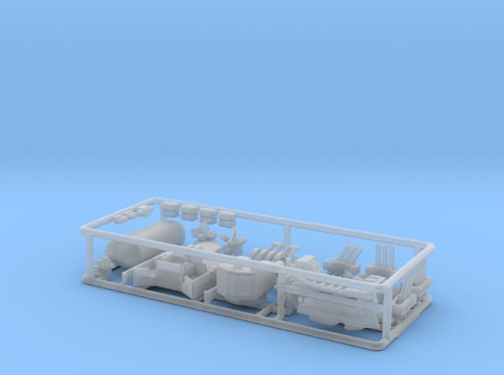 HMS Torquay Upgrade kit 2. 1/500 scale. 3d printed