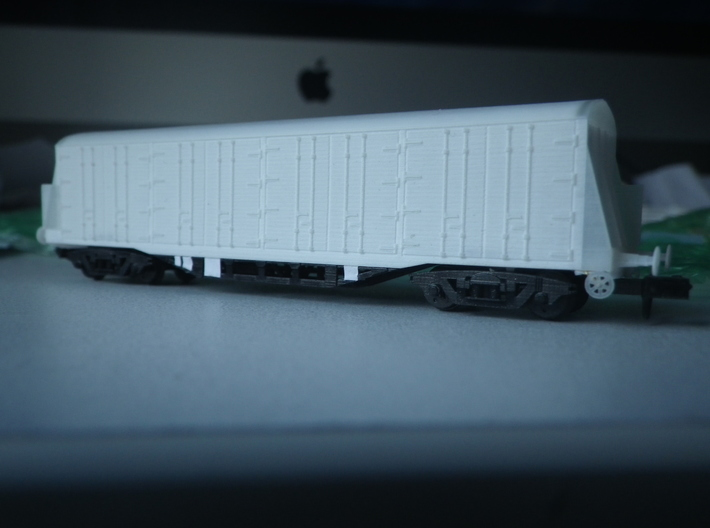 UKF Van Underframe 3d printed Van body NOT INCLUDED, bogies and brake handwheel sold separately