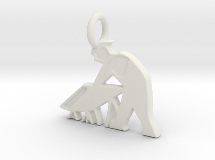 RCS Sawhorse Guy 3d printed