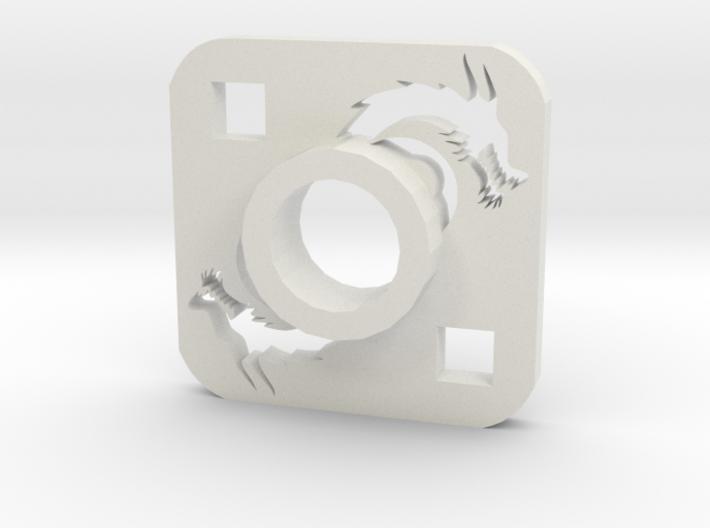 Lightsaber Tsuba Dragon 3d printed