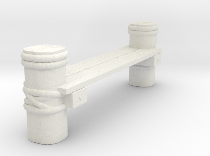 Connector Piece For Wooden Deck for Tabletop Warga 3d printed