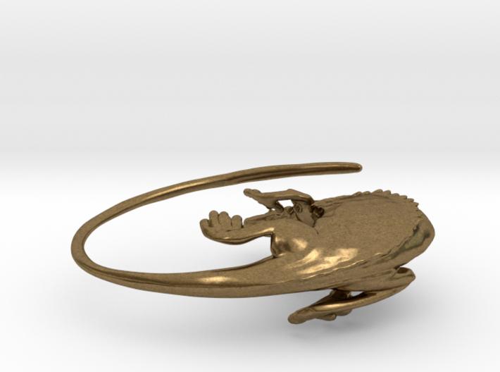 Lizard Earring - 25mm 3d printed