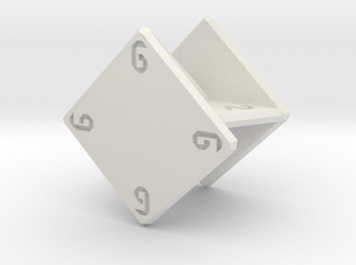 Planar d6 3d printed