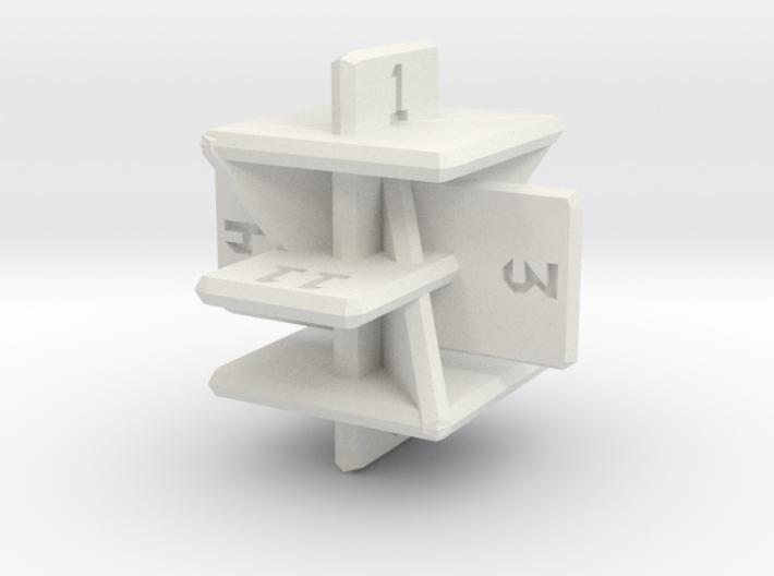 Planar d12 3d printed