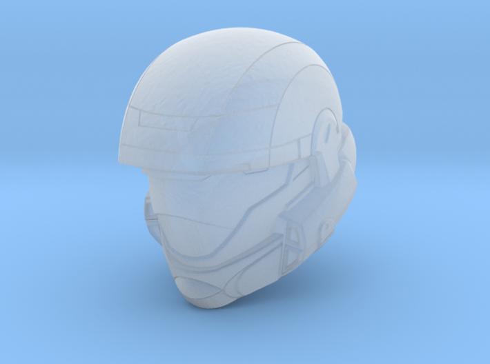 ODST Helmet (1:58 Scale) 3d printed
