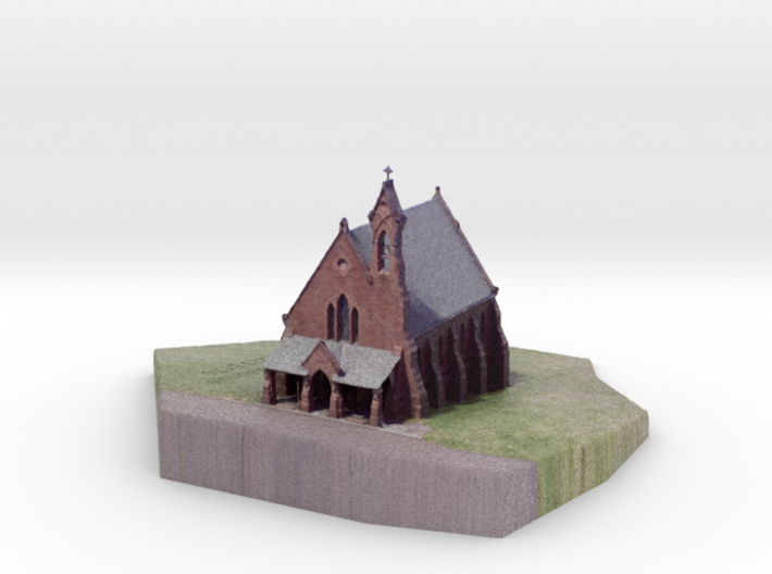 Indian Hill Cemetery Chapel (c. 1867)Middletown CT 3d printed