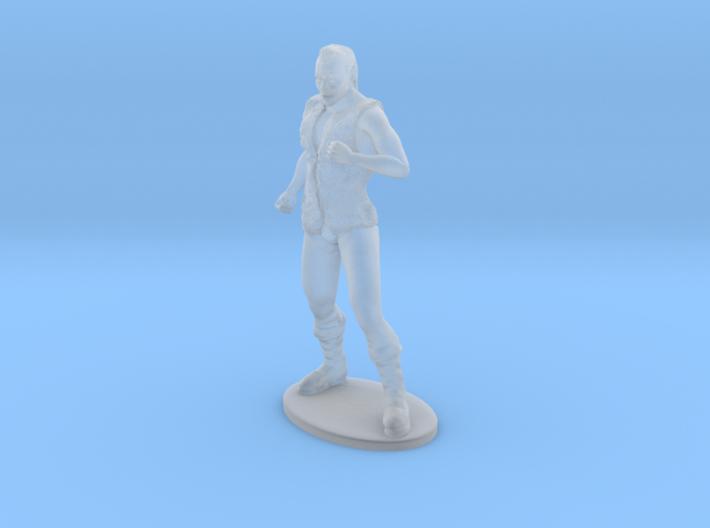 Half-Orc Miniature 3d printed