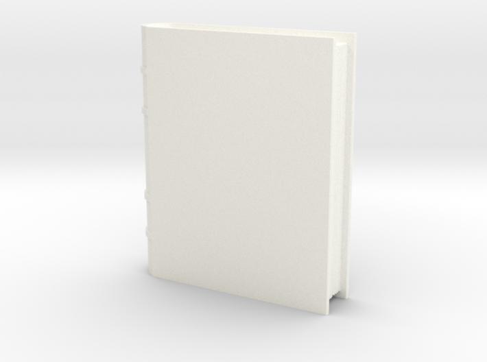 Book Generic 1 3d printed