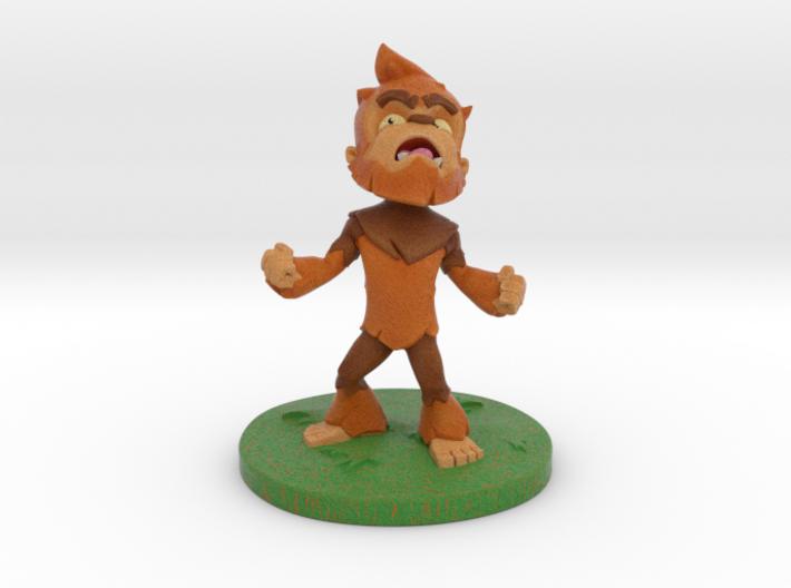 Little Bigfoot Yell Small 3d printed Bigfoot