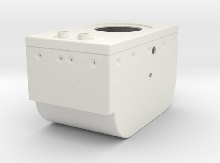 Lunar Module Rotation Control Housing 3d printed