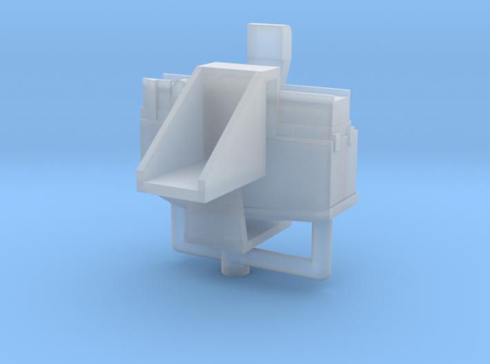 1/32 scale FN L37A2 (GPMG) Machine gun mount. 3d printed