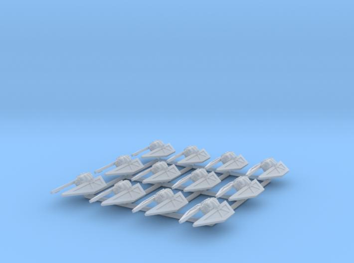 (Armada) 12x TIE Striker 3d printed