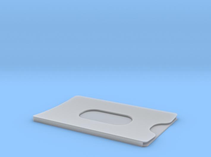 Bank card case 3d printed