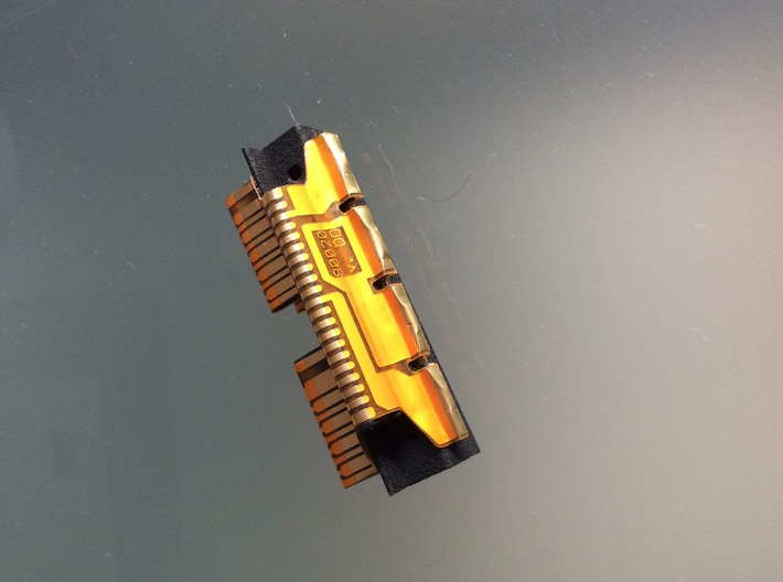Battery-Port Assembly HP41C 3d printed Assembled piece