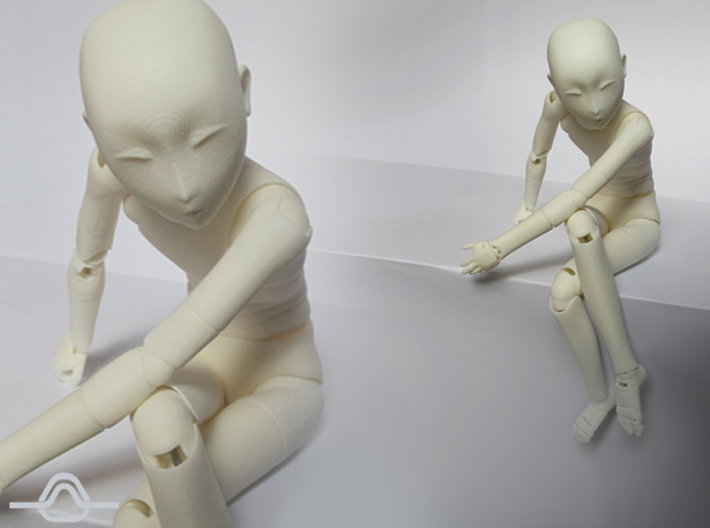 1/6 scale ALTER EGO bjd doll kit 3d printed