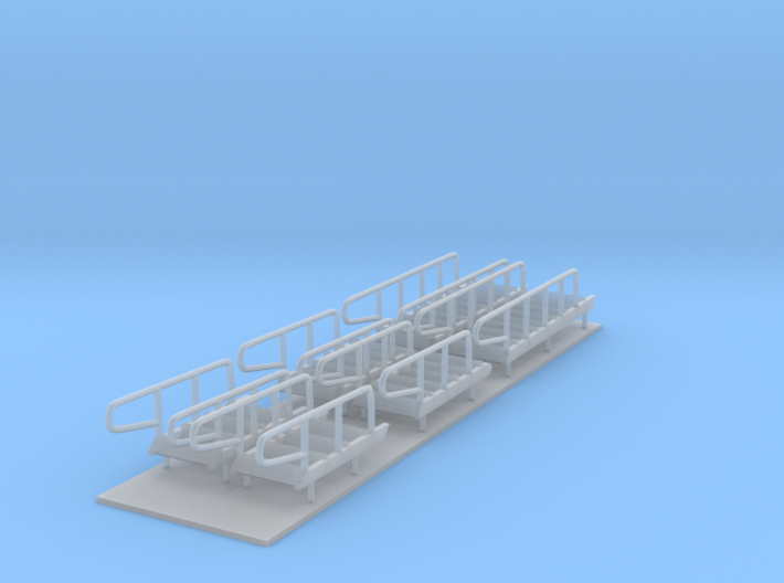 1/96 scale Bear/Famous Class - Stairs set 3d printed