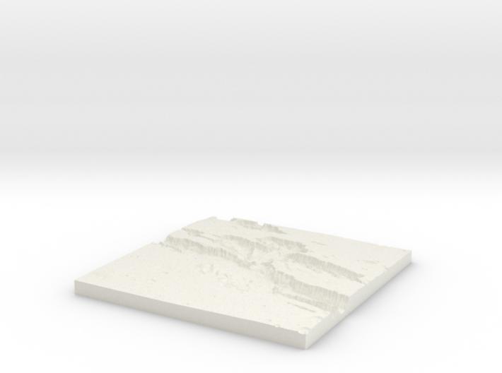 Diorama Base 04 War Zone 3d printed