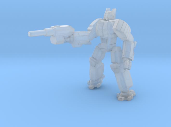 Hoplite pose 1 3d printed