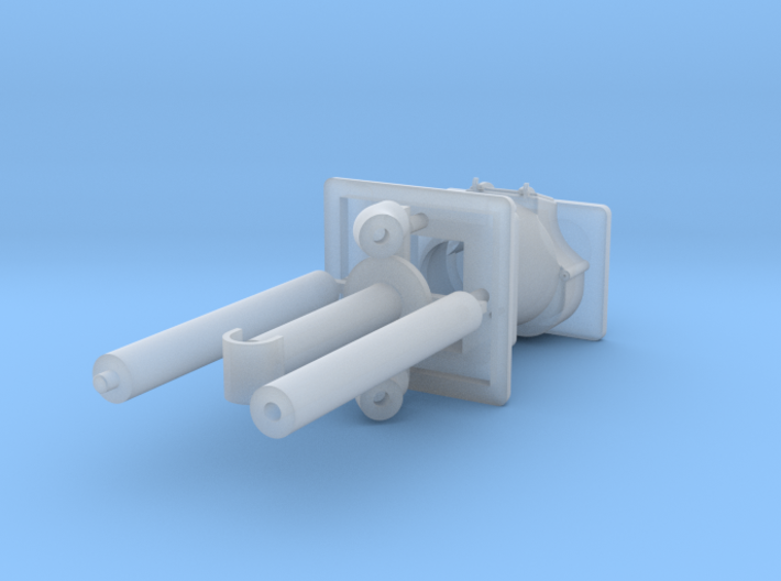 PRR Style wood Stove (1:32 Scale) 3d printed