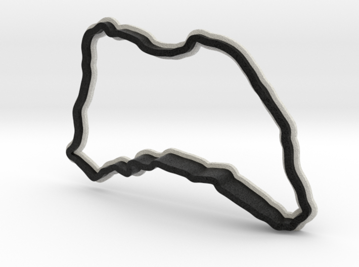 Isle of Man TT - Road Course   Small 3d printed