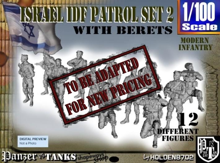 1-100 IDF BERET PATROL SET 2 3d printed