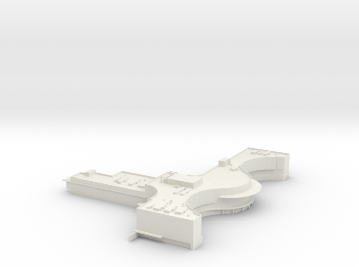 Boeing Everett Delivery Center 3d printed