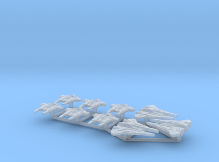 (Armada) Mandalorian Fighters Set I 3d printed
