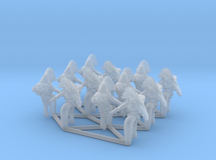 (Armada) 12x Yuuzhan Vong Yorik-Akaga 3d printed