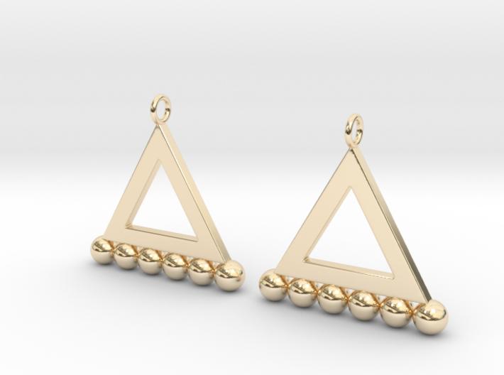 NEO Baumann Earings 3d printed