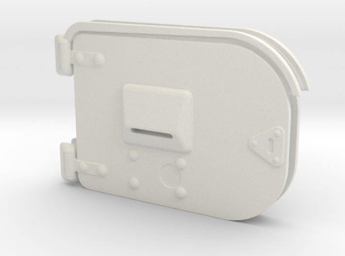 1/16 scale Early Pz IV Turret side hatches 3d printed