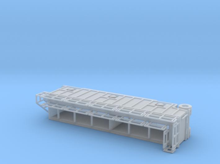 N scale 1/160 Frac Tank 21,000 gal Open Top  3d printed