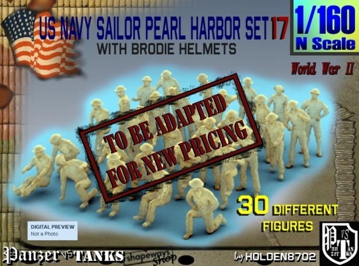 1-160 US Navy Pearl Harbor Set 17 3d printed