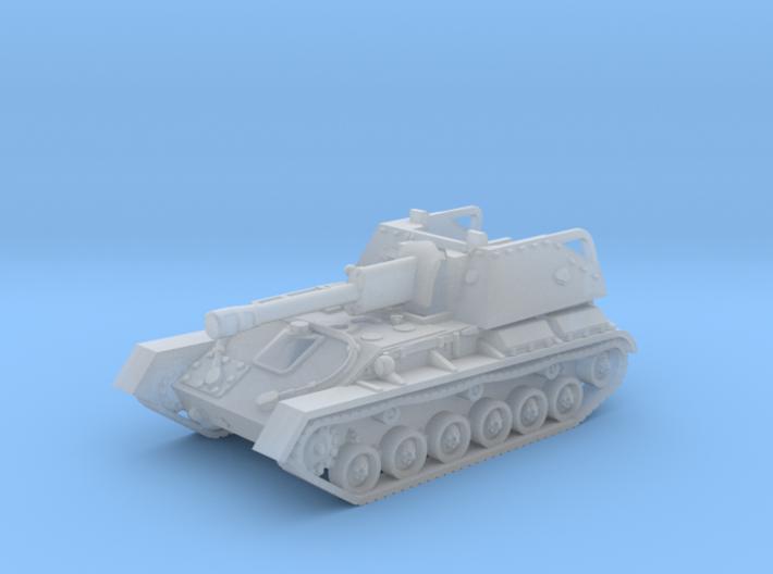 SU-76 M tank (Russian) 1/200 3d printed