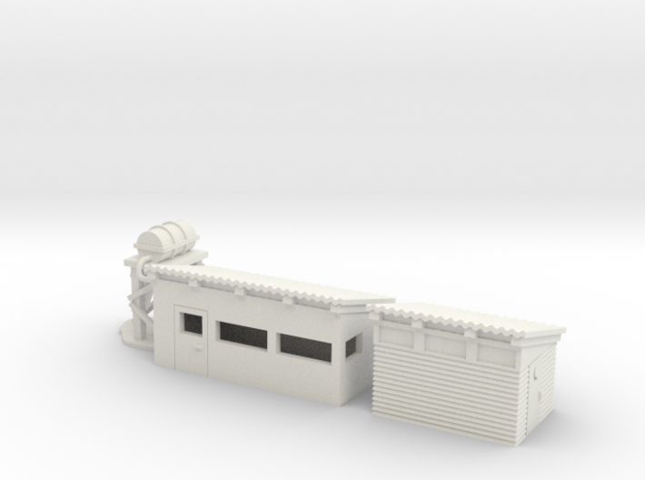 1/87 Vietnam Shower And Latrine for qman7412 3d printed