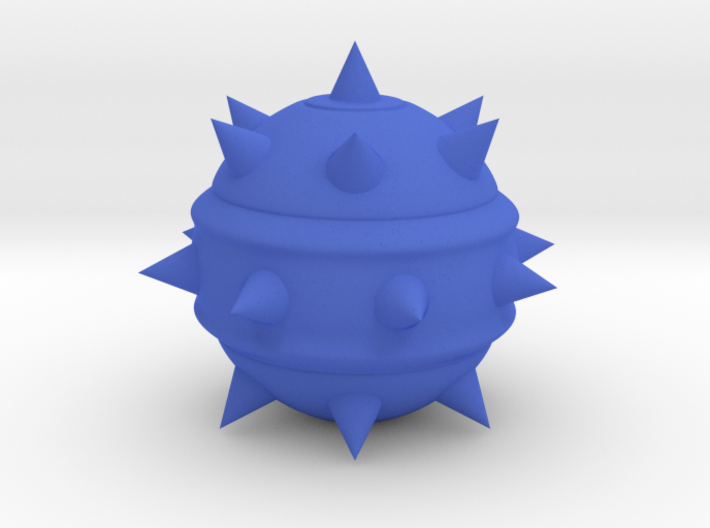High-Poly Stickybomb (Hollow) 3d printed
