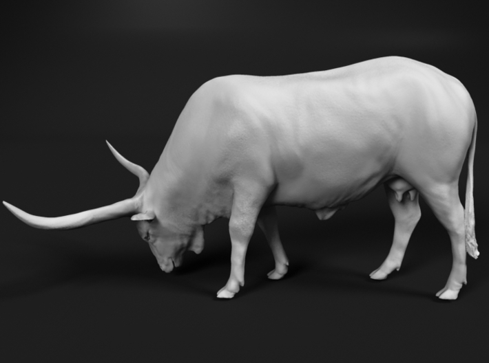 Ankole-Watusi 1:87 Grazing Female 3d printed