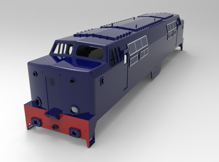 NS 1200, spoor 1, scale 1:32 3d printed this render is from the latest update
