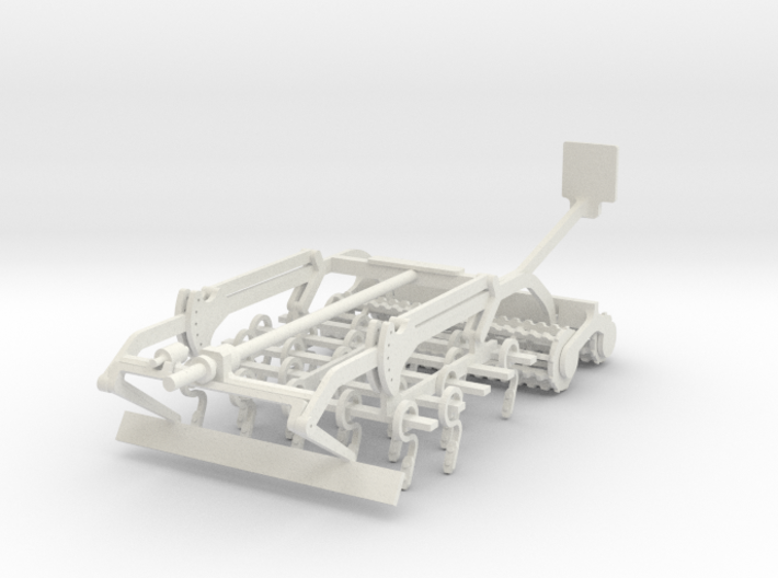 Korund Feld links 6m/ 9m 3d printed