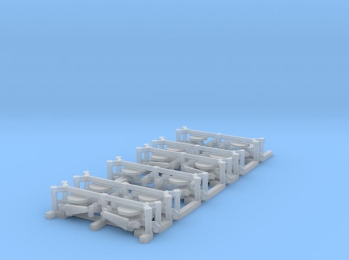 E-2C/D Hawkeye Set, 12 pc, 1/1800 3d printed